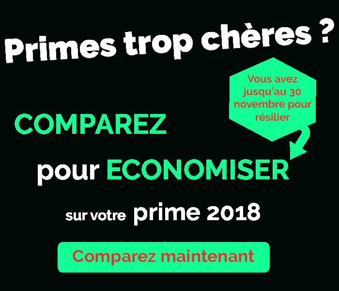 Economisez sur votre prime 2018