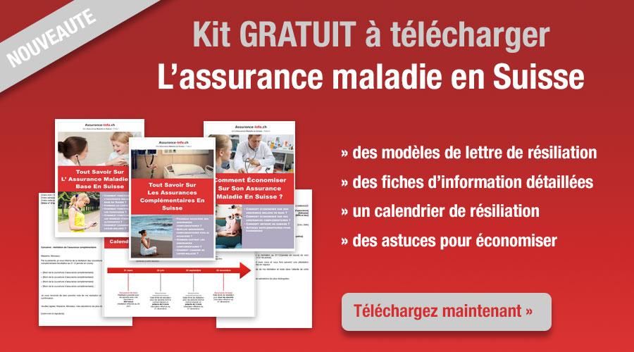 Téléchargez notre kit sur l'assurance maladie en Suisse