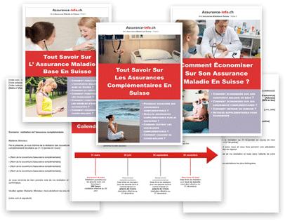 Fiches du kit L'assurance maladie en Suisse